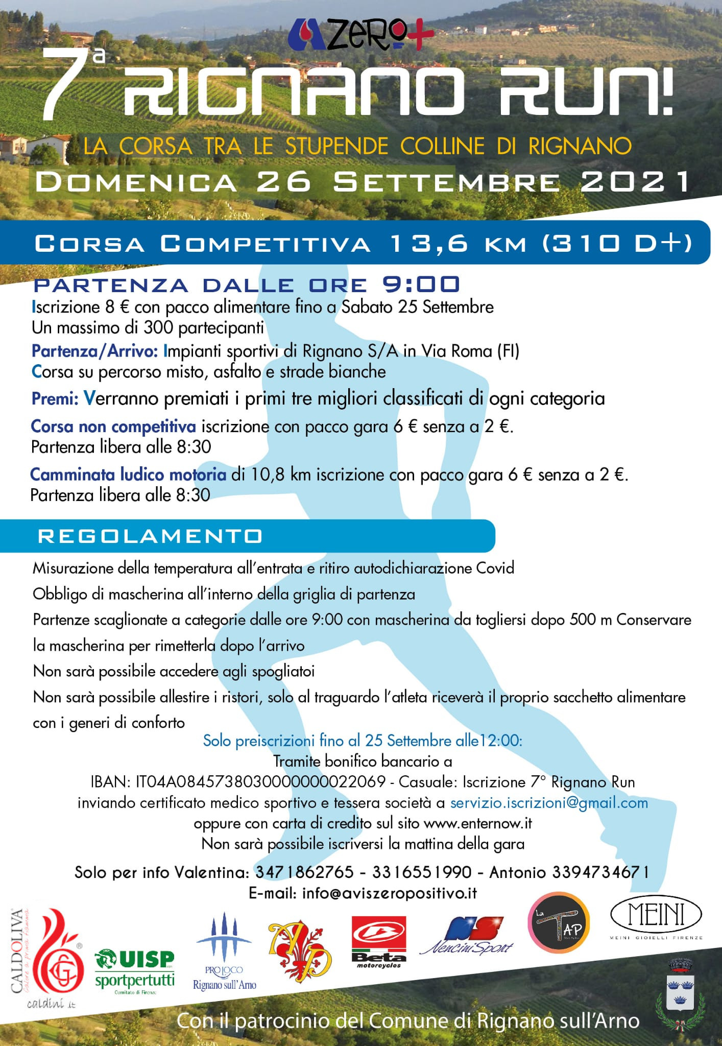 Volantino Rignano Run 2020